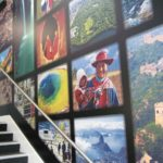 Digitally printed wall coverings