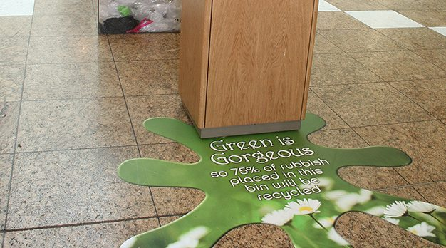 floor graphics shopping centre