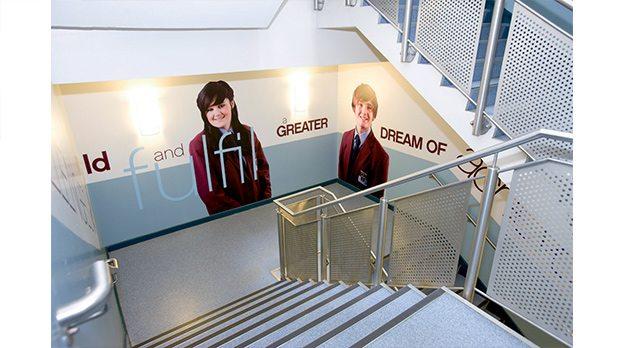 School Hall Wall Graphics
