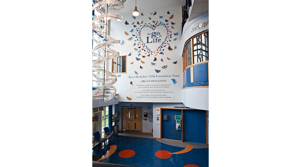 The Entire Gift of Life Signage and Graphics