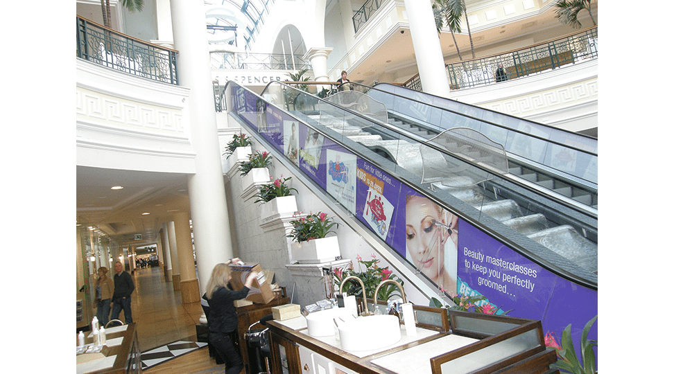 Escalator Graphics by Digital Plus