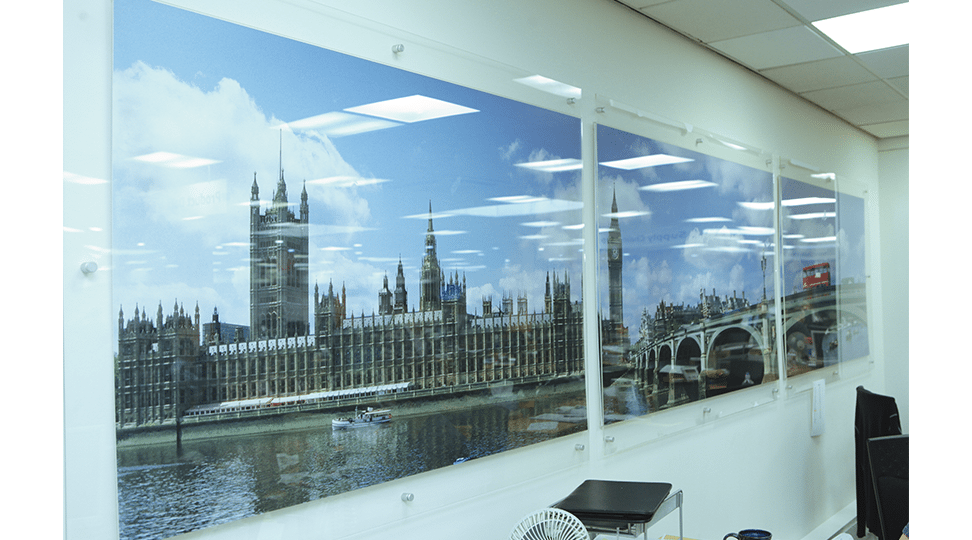 London Office Graphics by Digital Plus