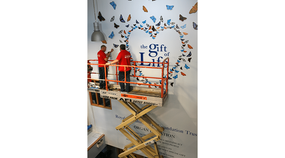 Installing the Gift of Life Logo