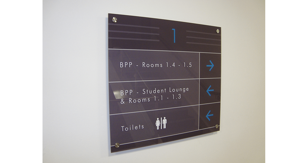 Park Row Offices Directional Signage by Digital Plus