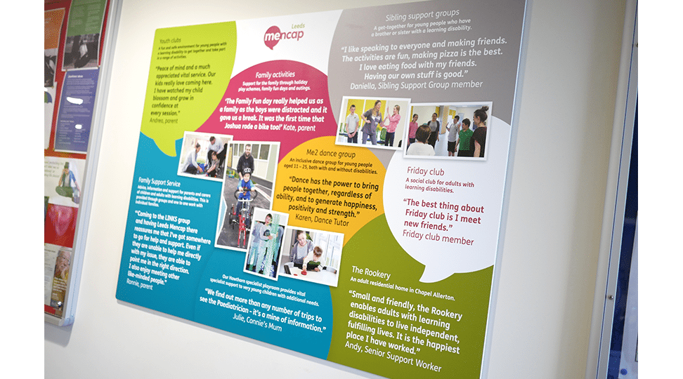 Leeds Mencap Interior Signage by Digital Plus