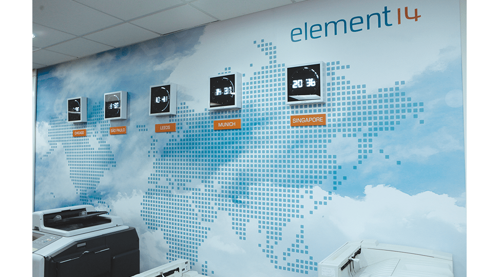 Element14 Interior Graphics by Digital Plus