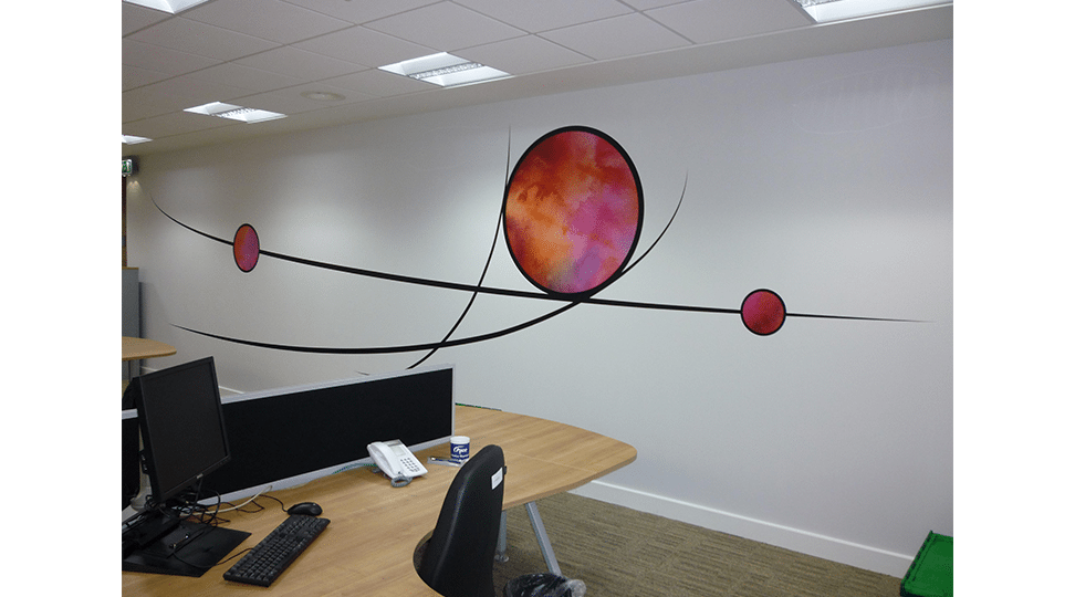 Pace Laboratories Office Circular Graphics by Digital Plus