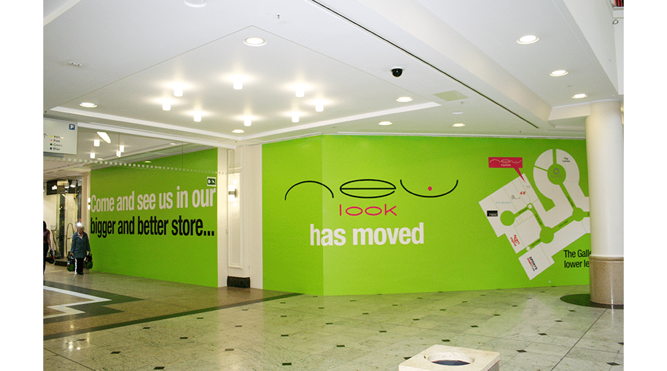 Meadowhall New Look Graphics by Digital Plus