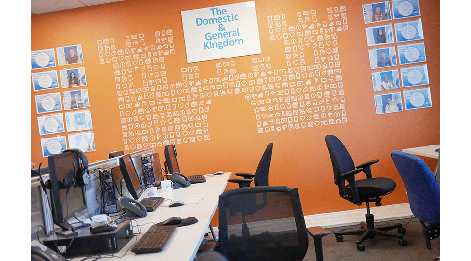 Office Full Wall Graphics by Digital Plus