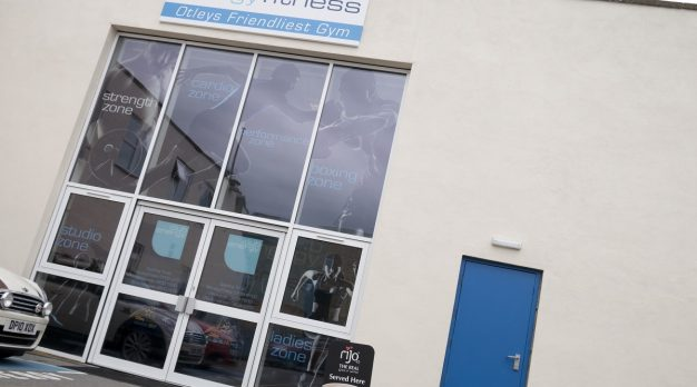 Gym Entrance Signage Otley