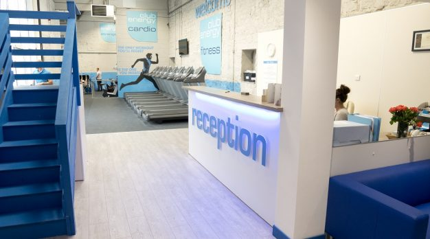 Gym Reception Graphics