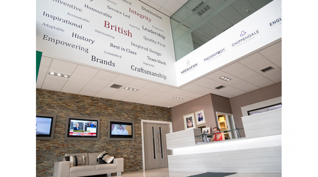 Interior Reception Graphics by Digital Plus