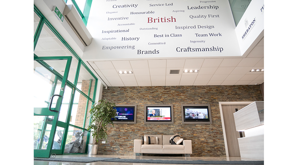 Interior Building Graphics by Digital Plus