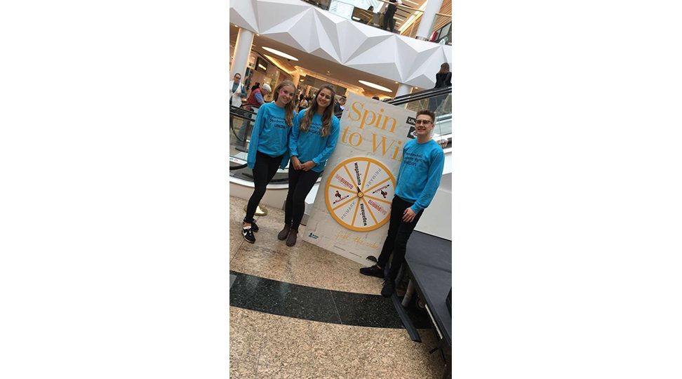 Meadowhall Student Night Graphics Spin to Win