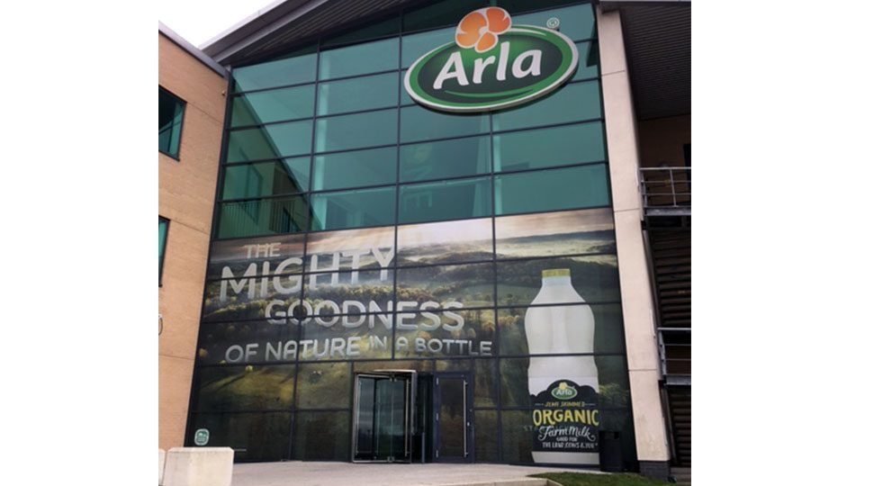 Arla Professional Window Graphics