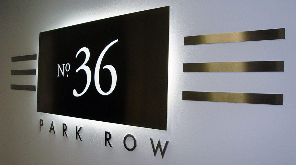 Indoor Signage Office Branding