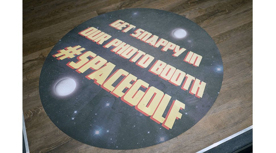 Full Colour Floor Graphics