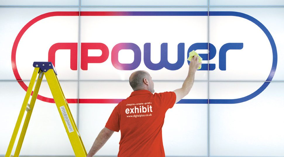 Indoor Signage for businesses - NPower