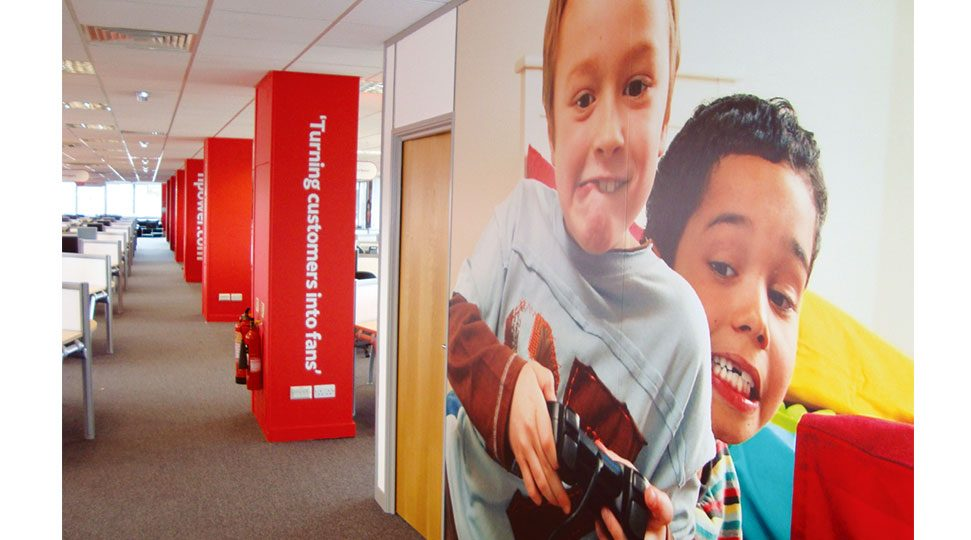 Head Office Wall Graphics