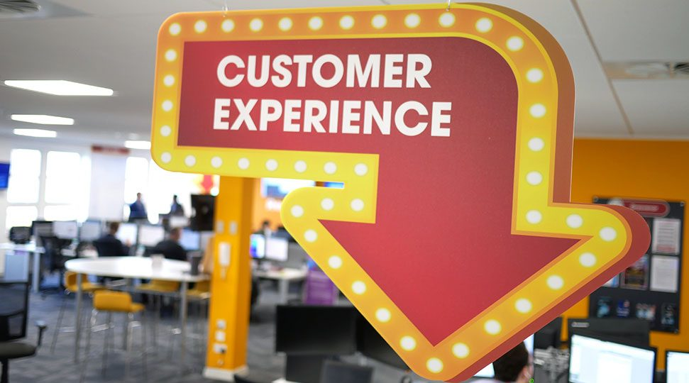 Interior Signage Customer Experience
