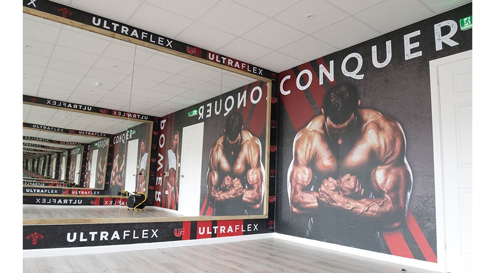 Fitness Wall Graphics