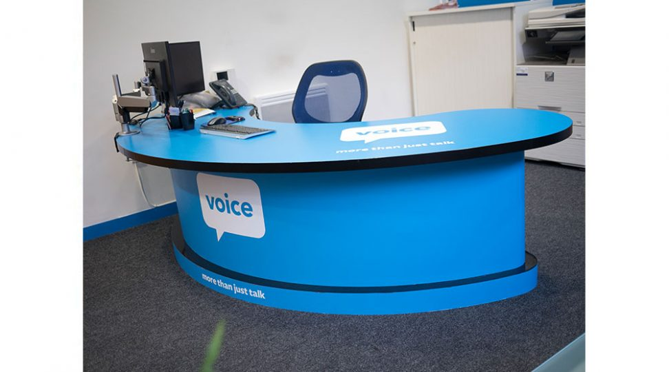 reception-desk-branding