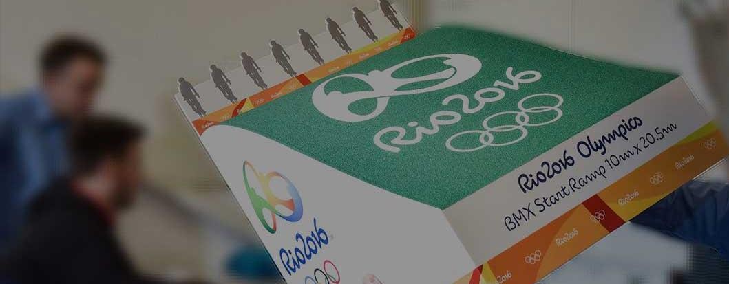 Rio Olympics Print Mock Up