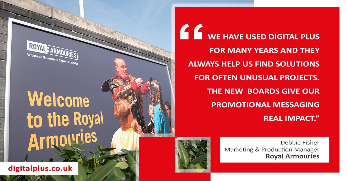Digital-Plus-testimonial-Royal-Armouries