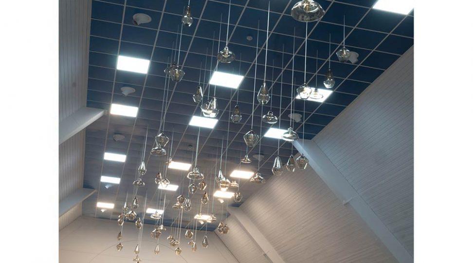 digitally printed ceiling tiles