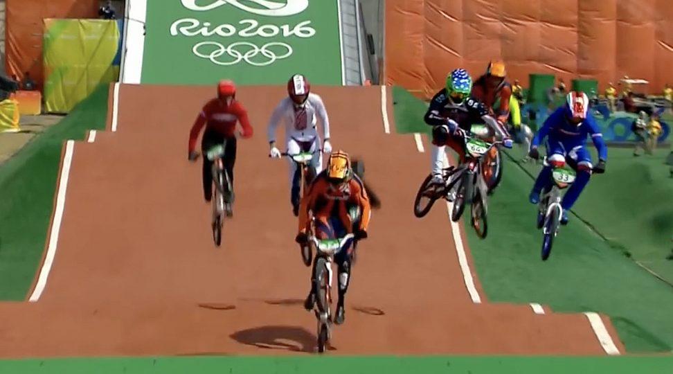Floor graphic olympics